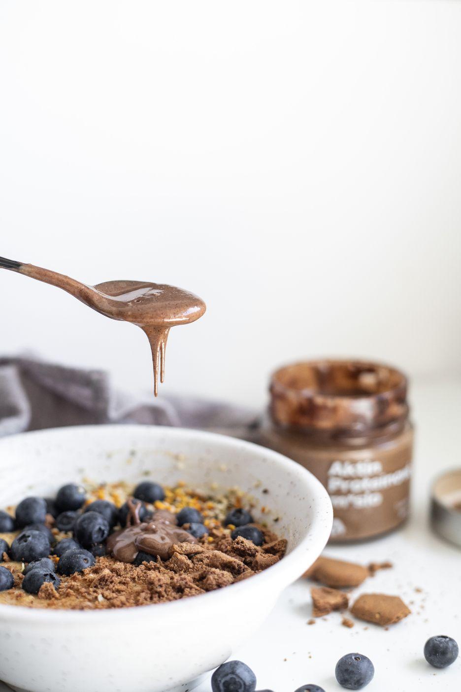 Aktin Proteinové ořechové máslo karamel s kakaem 200 g
