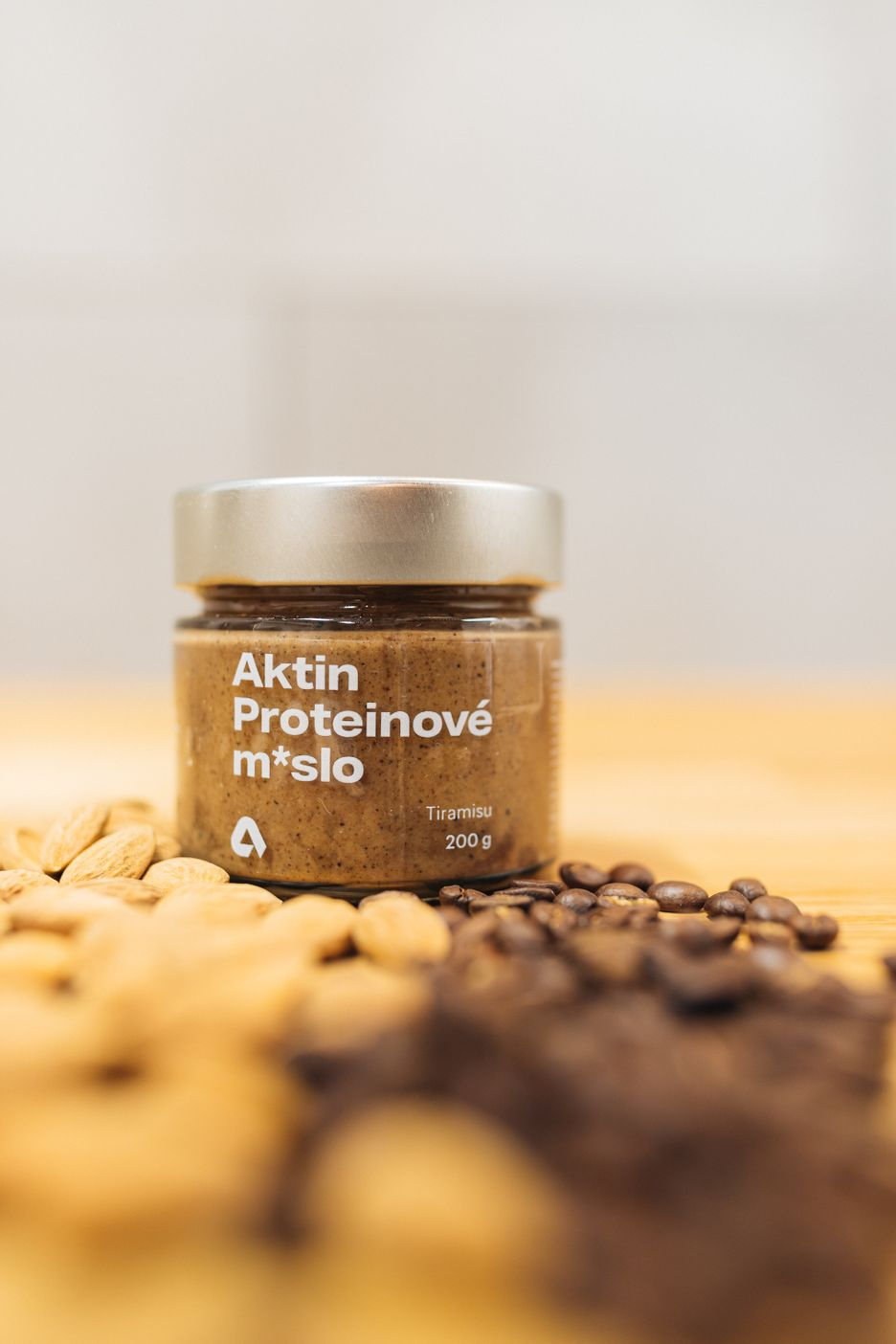 Aktin Proteinové ořechové máslo tiramisu 200 g