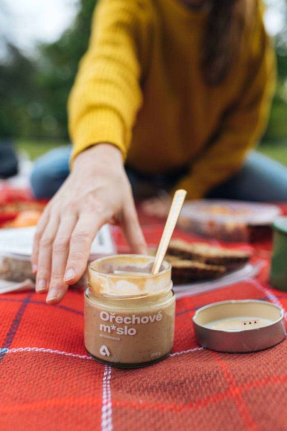 Aktin Proteinové ořechové máslo lískové ořechy s vanilkou 200 g