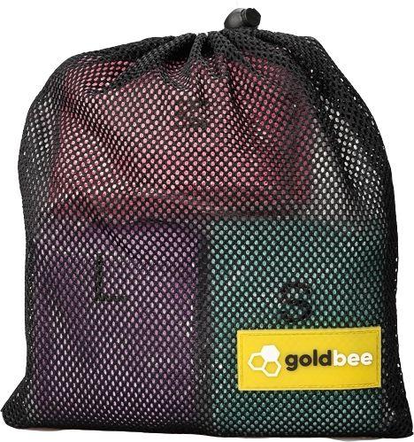 GoldBee Textilní odporová guma SET