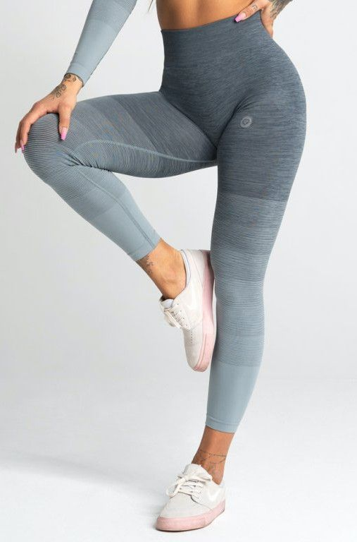 Gym Glamour legíny Seamless L sea ombre