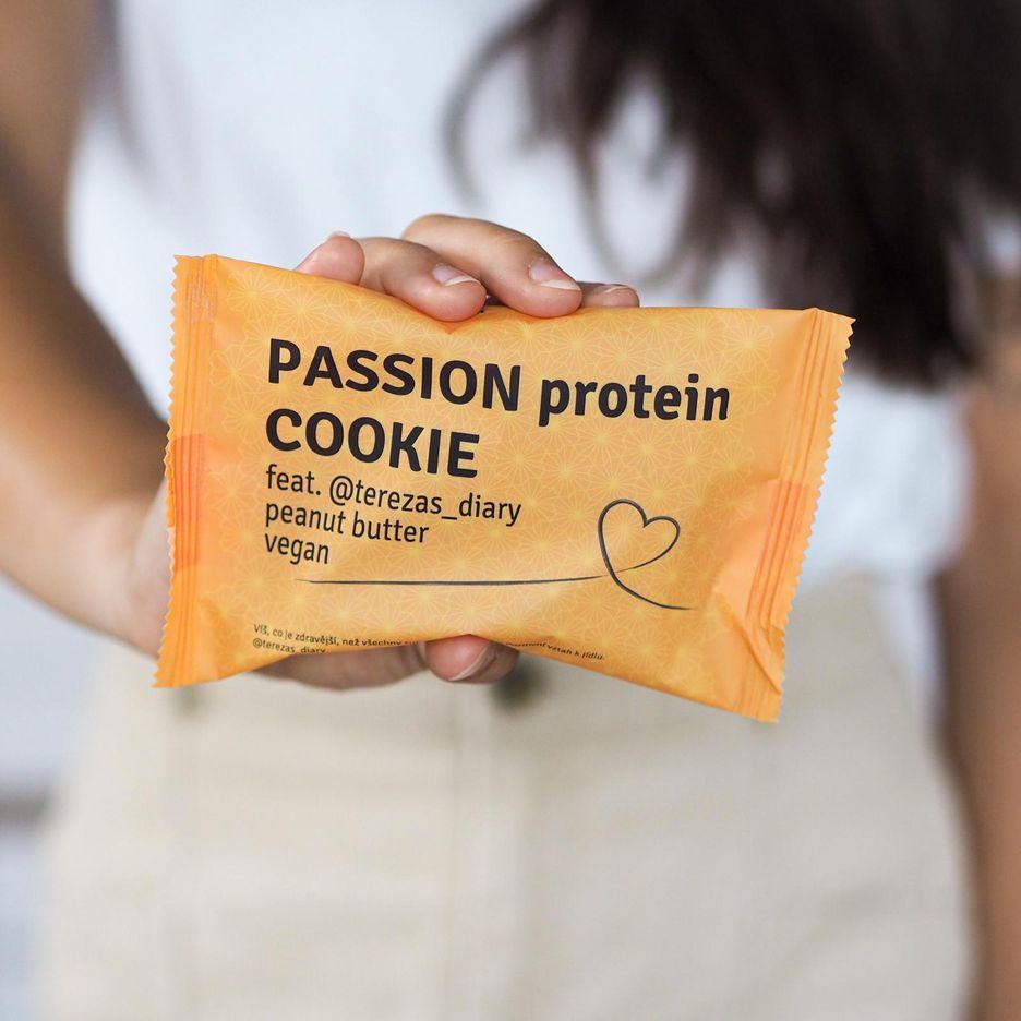 Passion Bar Protein Cookie vegan