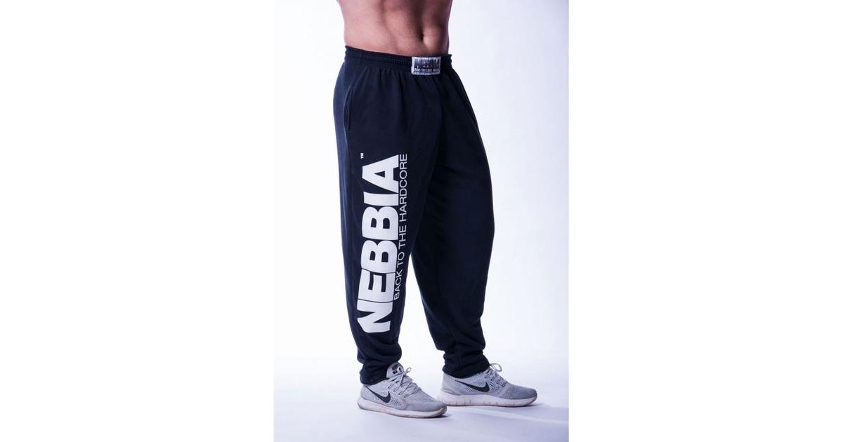Nebbia pánské tepláky Hardcore fitness 510  21a7d6374ae