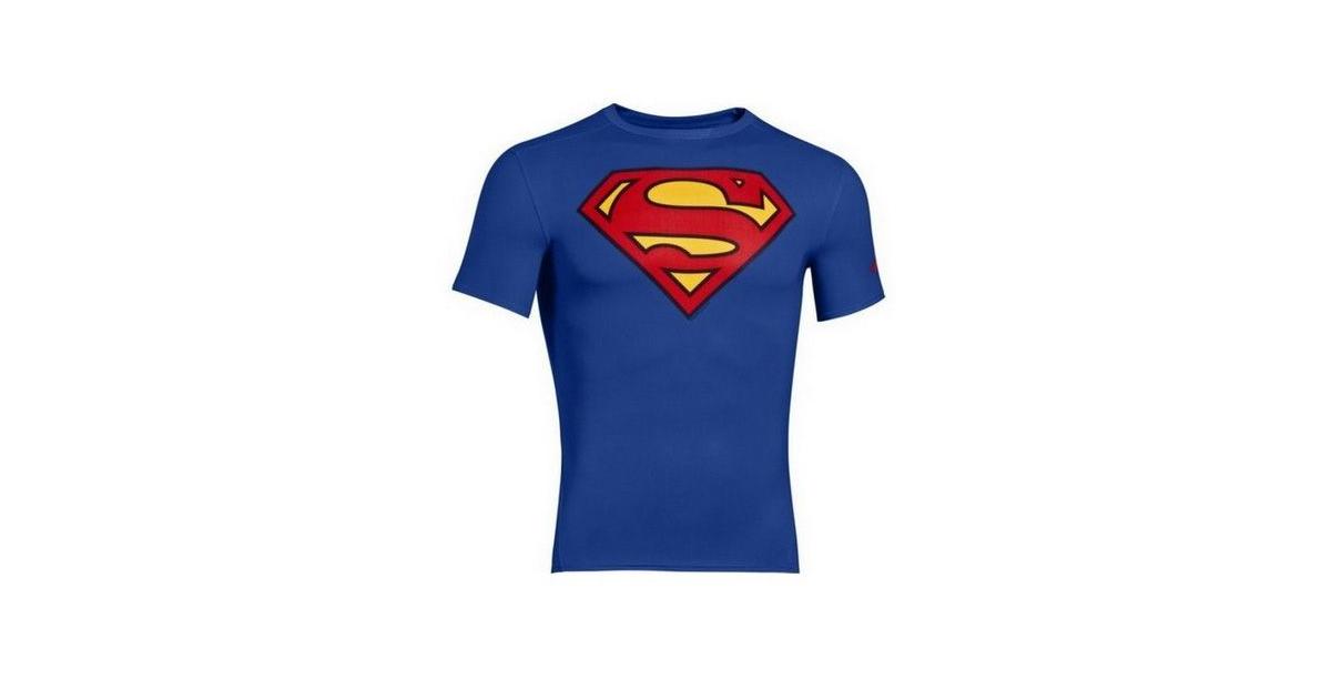Under Armour Pánské tričko Alter Ego DC Comics fitted Superman  cb033d8ed5