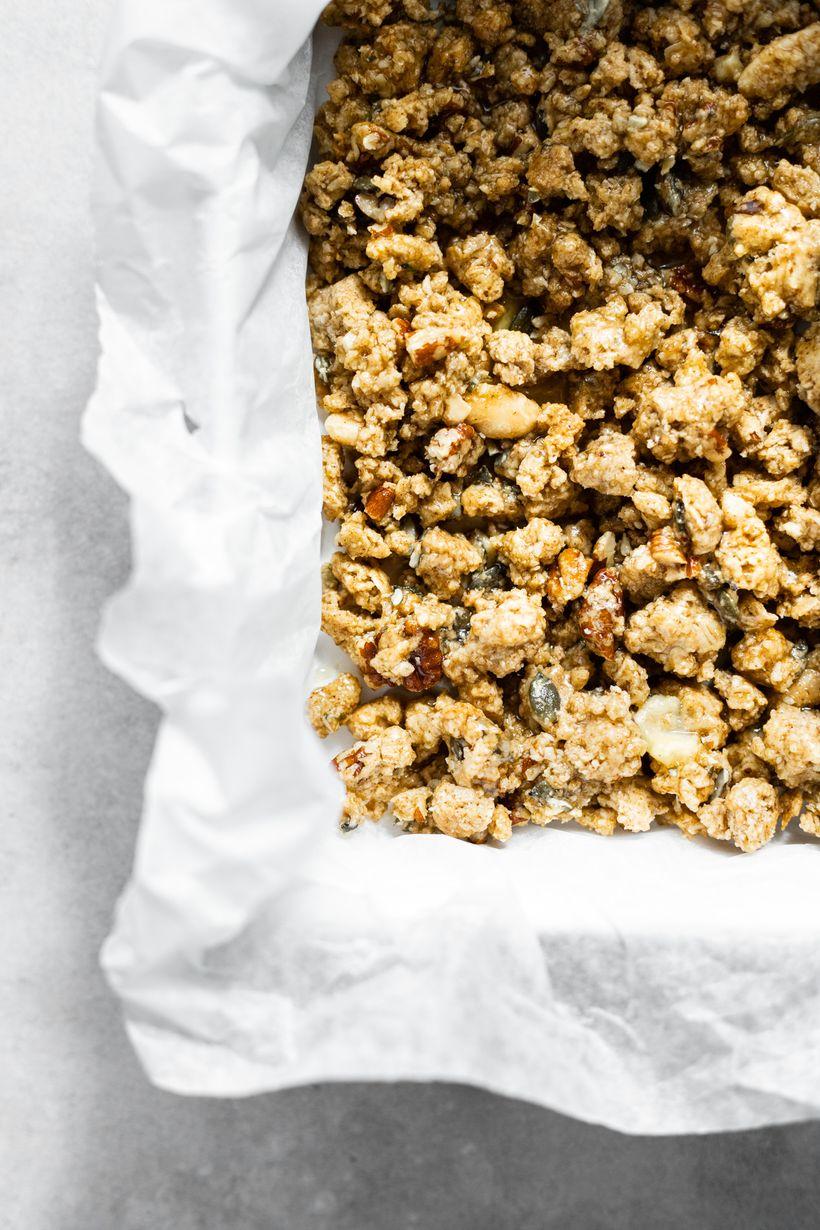 Lehký dezert bez pečení: Nebeské borůvkové řezy