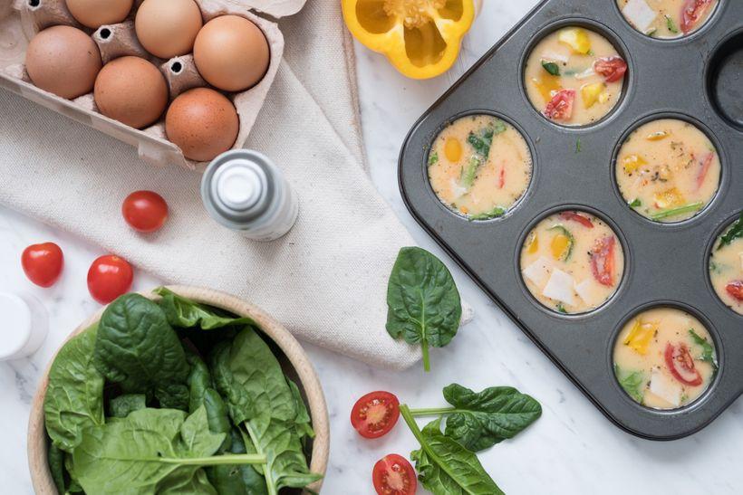 Ranní rychlovka: Vajíčkové muffiny, které vezmete všude ssebou