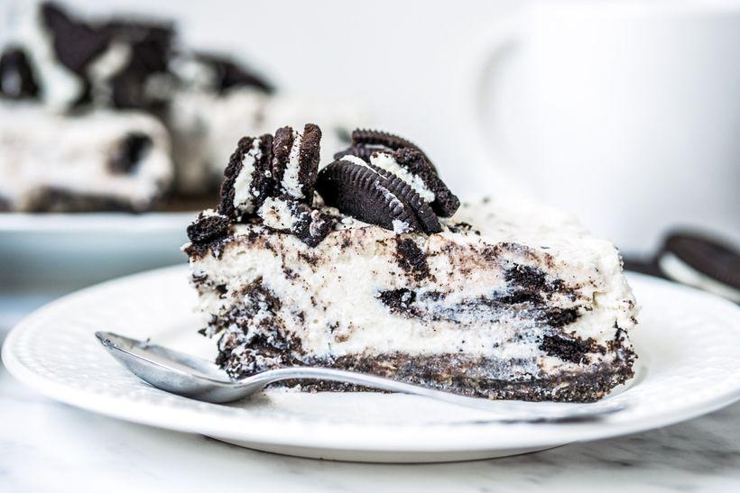 Oslňte fit verzí cheesecaku ze slavných kakaových sušenek