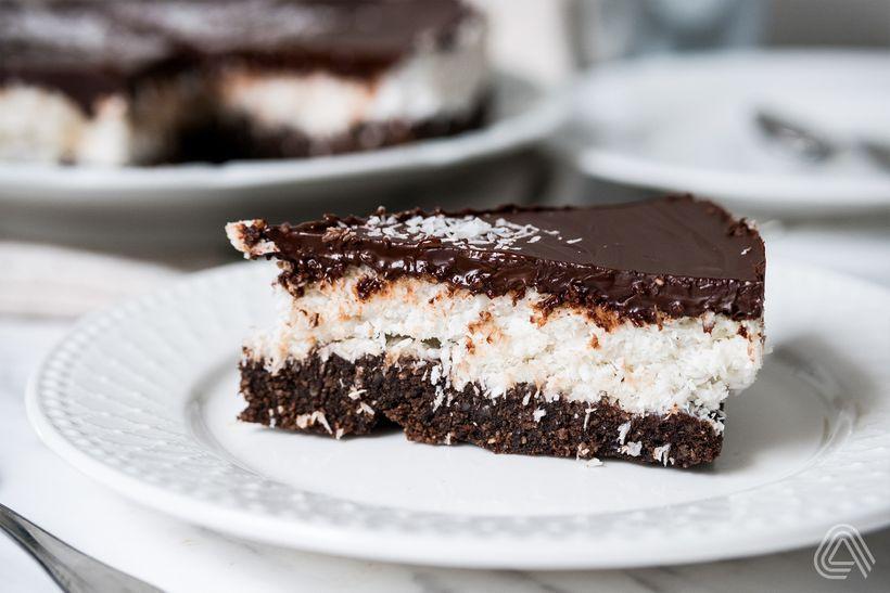 Hvězdné duo čoko-kokos uvádí: Lowcarb Bounty dort