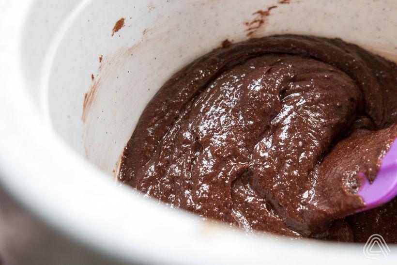 Šťavnaté apořádně čokoládové brownies stvarohem