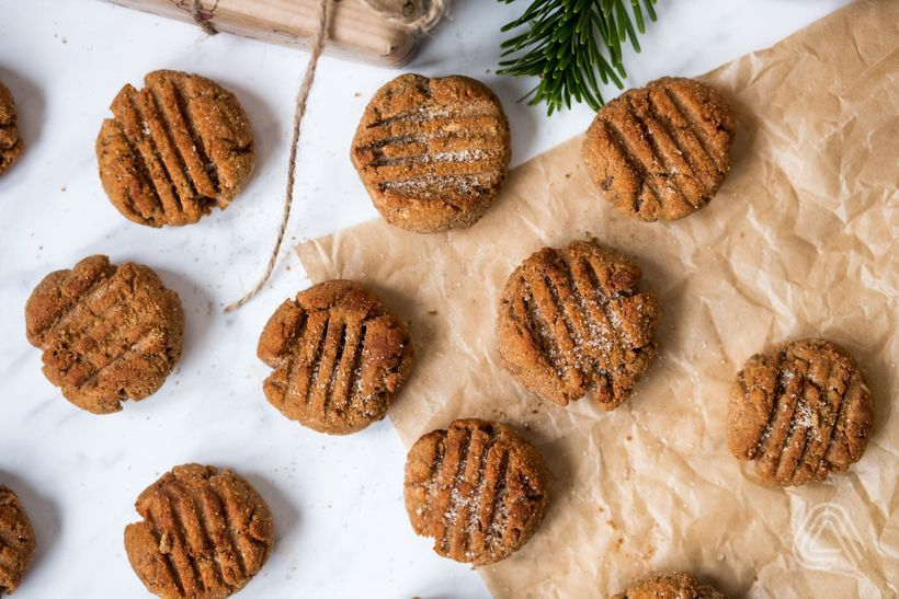Fit cukroví: Snickerdoodle sušenky