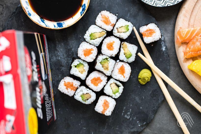 Tip do diety: Užijte si low carb sushi, které má o70 % méně kalorií