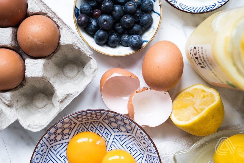 Originální vajíčková snídaně: Nadýchaná sladká omeleta, která se rozplývá na jazyku
