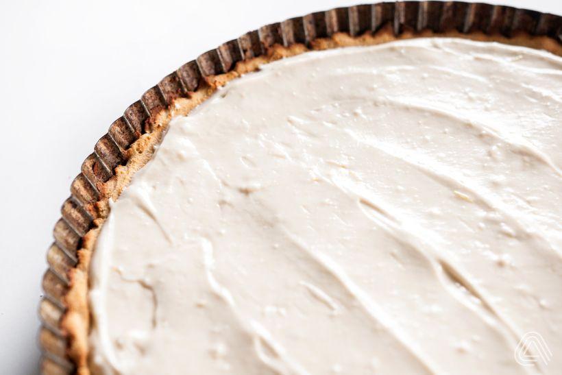 Svěží dortík s pořádnou náloží tvarohu a borůvek