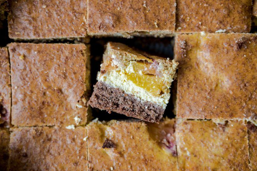 Léto v plném proudu: Tříbarevný šťavnatý koláč