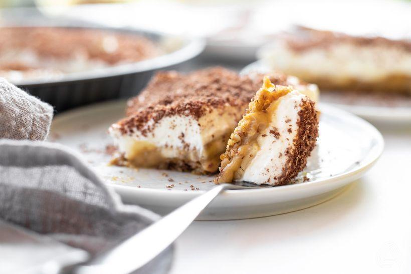 Banoffee koláč ve fit verzi: Ochutnejte dokonalé spojení banánu a karamelu