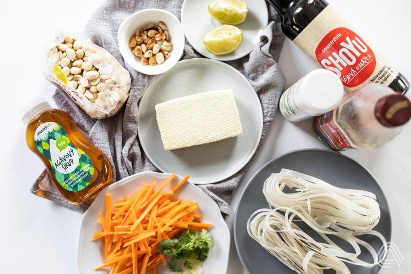 Pad thai s tofu, které vás přenese až do samotného Thajska