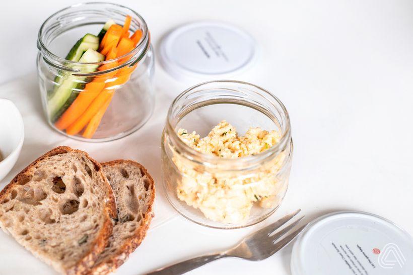 Svačiny s vysokým obsahem bílkovin: Vajíčková pomazánka vhodná i do diety