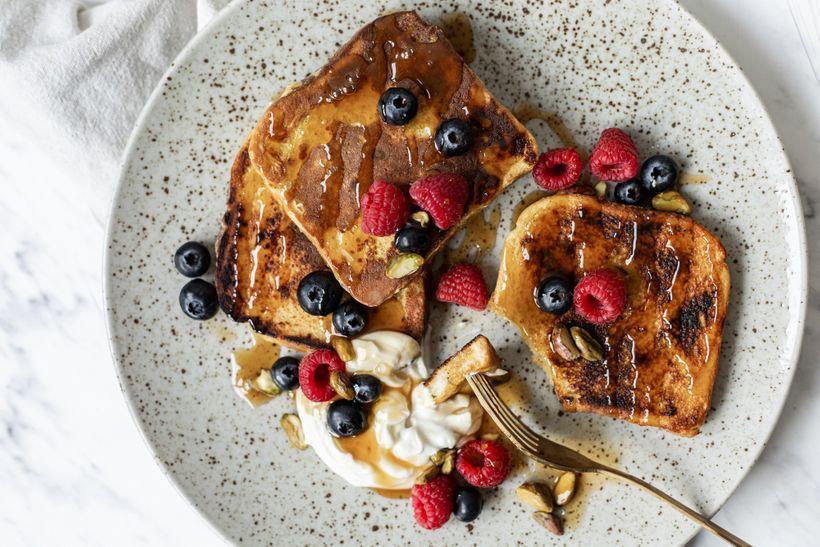 Tip na zdravou snídani: Francouzské toasty pro fitnessáky