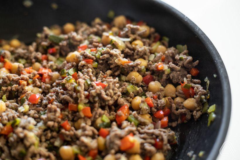 Tip na oběd: Batát plněný hovězím masem