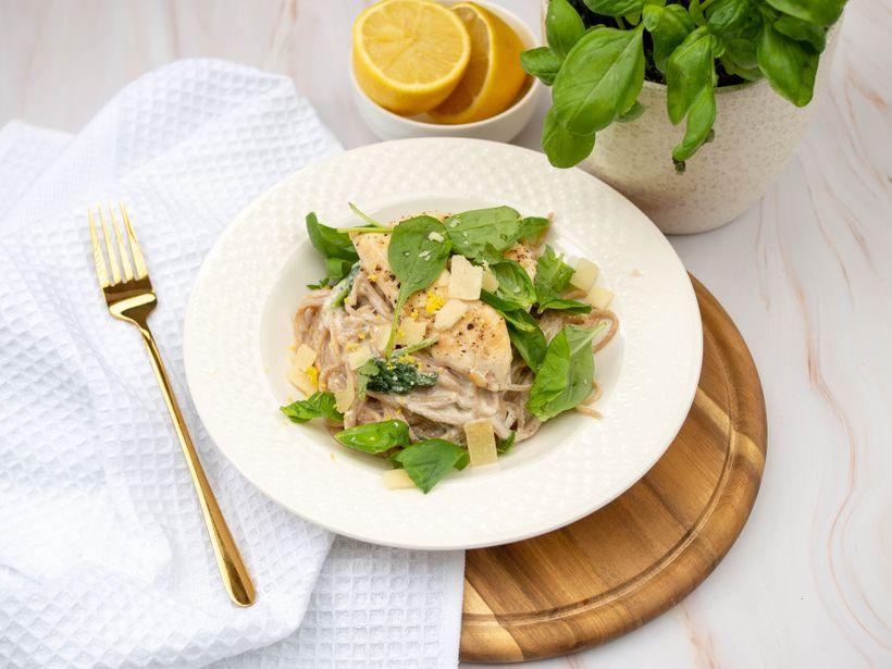 Lehký letní oběd: Špagety s citronovo-ricottovou omáčkou