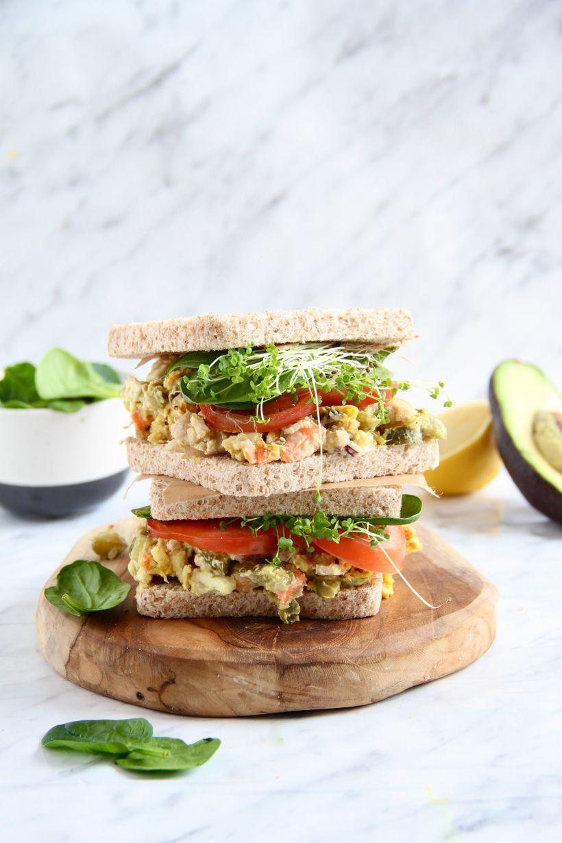 Svačina, co zasytí: zkuste vyladěný cizrnový sendvič