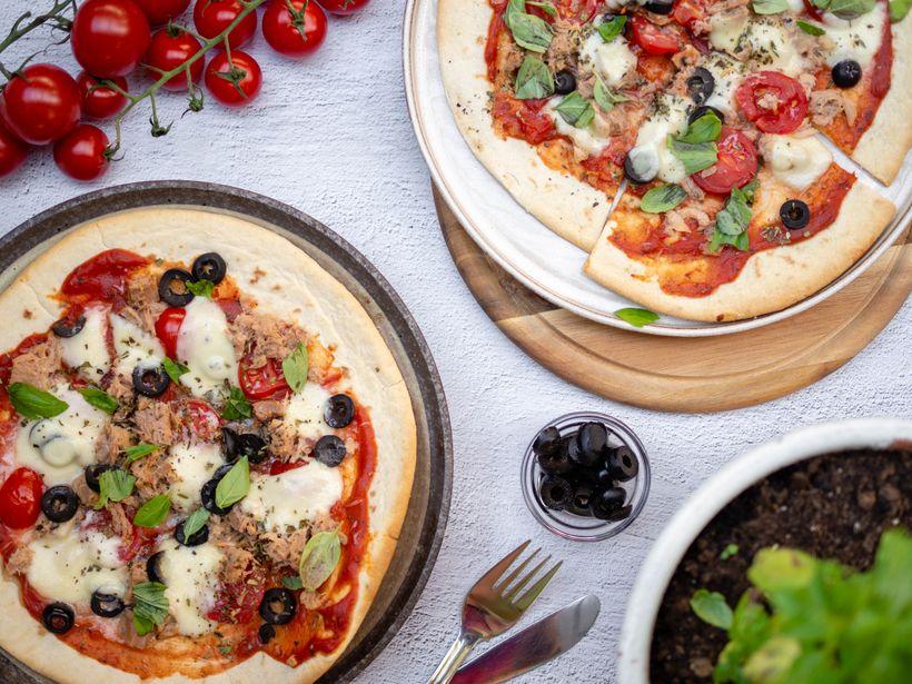 Zdravá pizza stuňákem hotová za pár minut