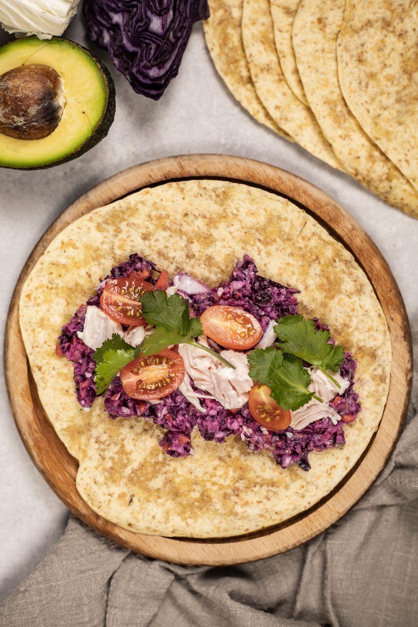 Zdravá večeře za pár minut: Šťavnaté tortila wrapy skuřecím masem