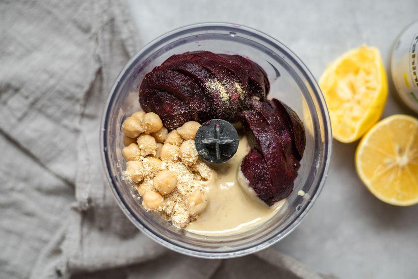 Zdravá večeře za pár minut: Řepový hummus