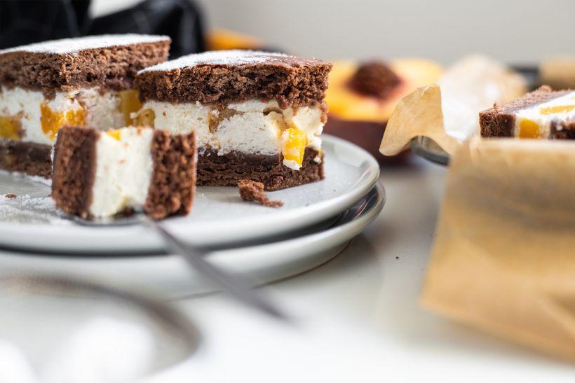 Šťavnatý kakaový koláč sbroskvemi