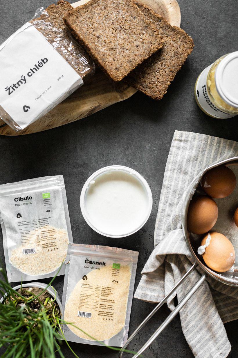 Vajíčková pomazánka zdravě achutně