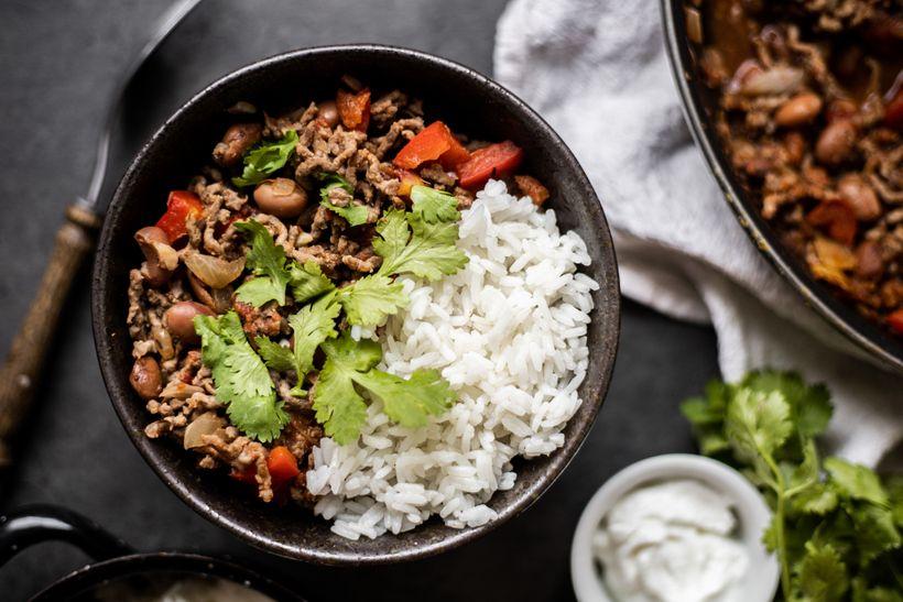 Oběd z jedné pánve na celý týden: Chilli con care