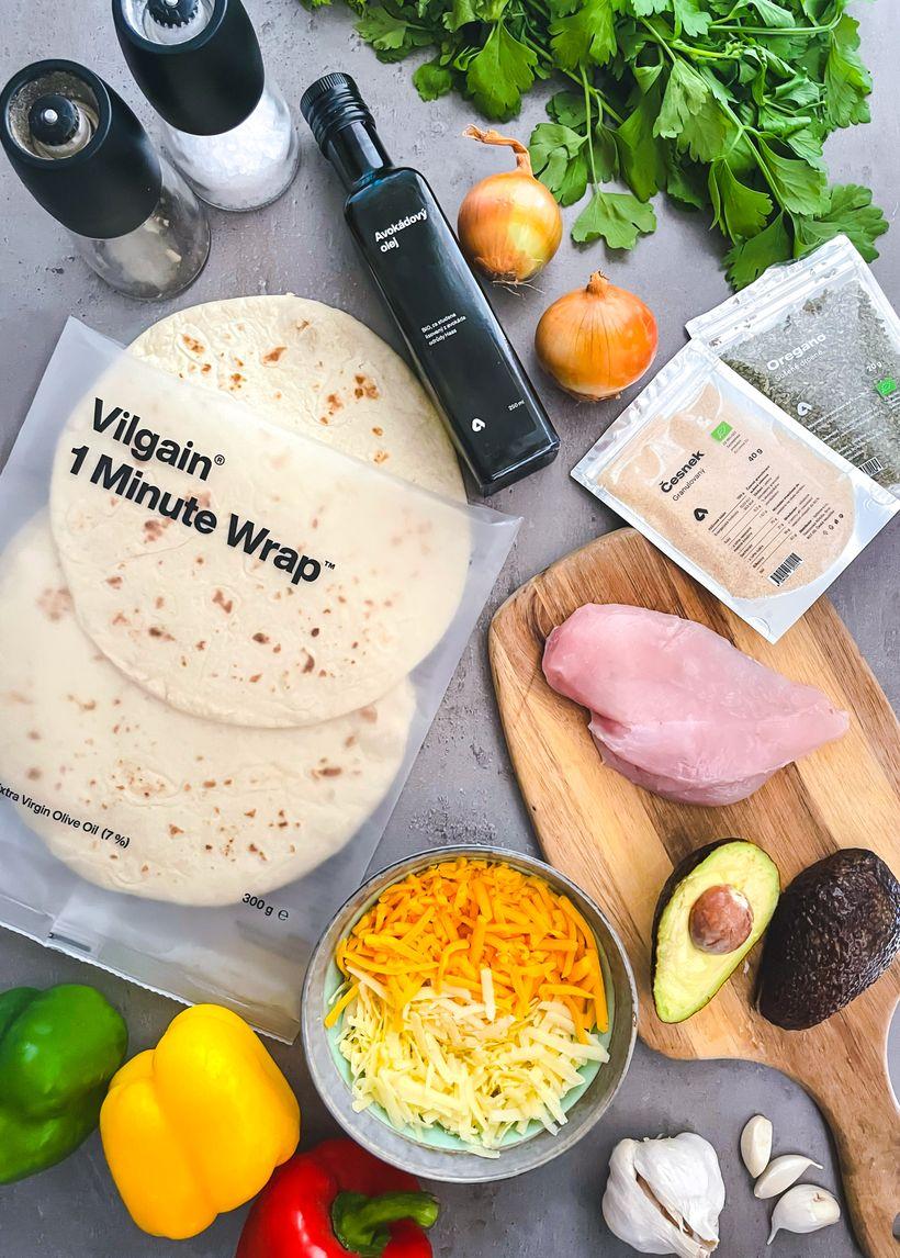 Nejlepší quesadilla ve fajita stylu