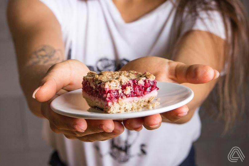 Malinový koláč s drobenkou. Nejlepší, jaký jste kdy jedli