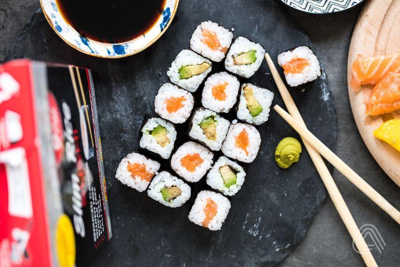 Tip do diety: Užijte si low carb sushi, které má o 70 % méně kalorií