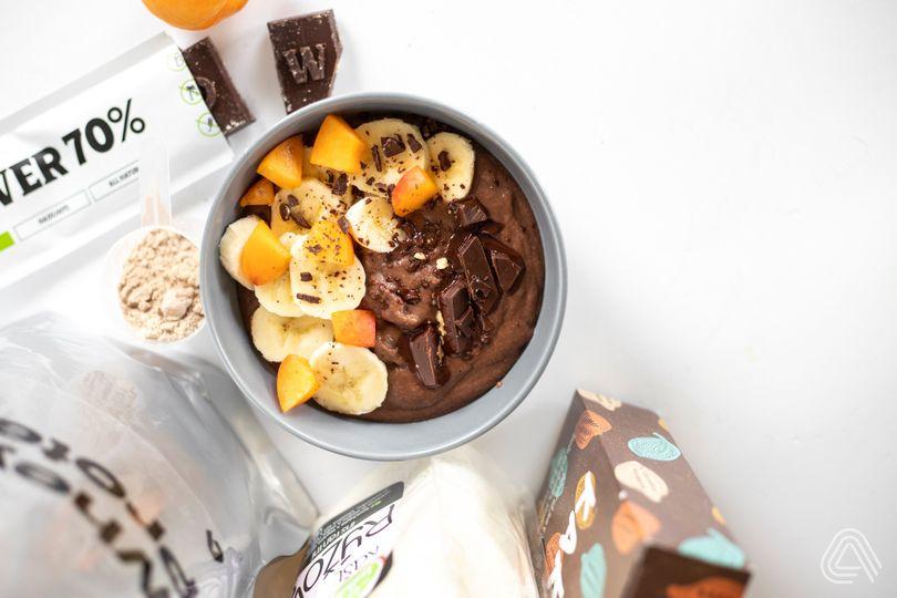 Rychlá, chutná a plná bílkovin: Rýžová čokoládová krupička jako od myšky