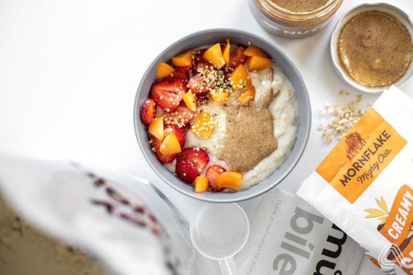 Rychlá, chutná a plná bílkovin: Nadýchaná a krémová ovesná kaše
