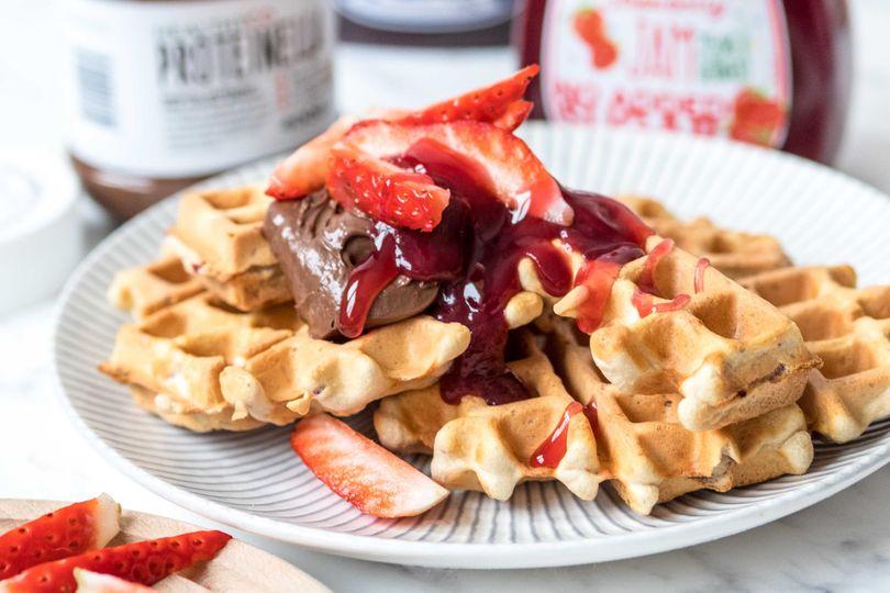 Proteinové wafle, které dokonale nastartují každý den