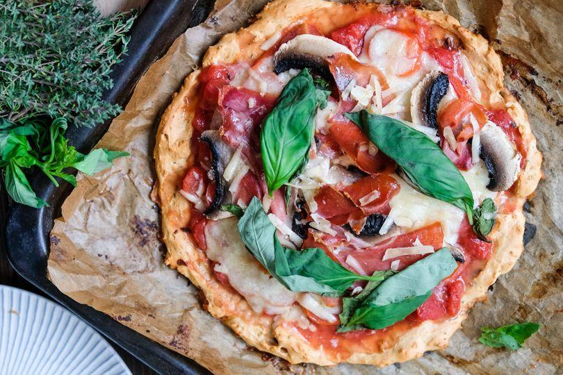 Hříšně dobrá proteinová pizza