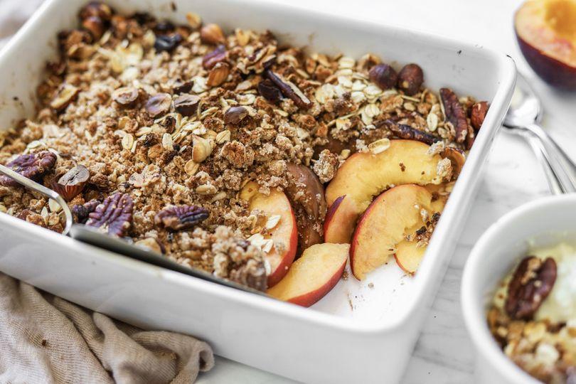 Crumble: rychlý zdravý dezert nebo výživná snídaně