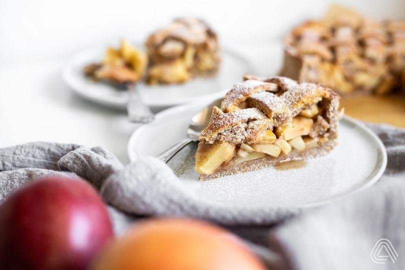 Americká klasika ve fit verzi: Apple pie s vůní skořice a vanilky