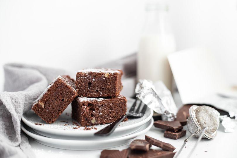Luxusní čokoládové brownies, na kterých si pochutnají i bezlepkáři