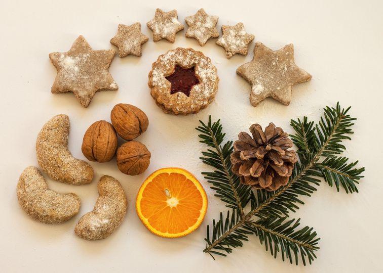 Fit cukroví: Kokosové slepované hvězdičky