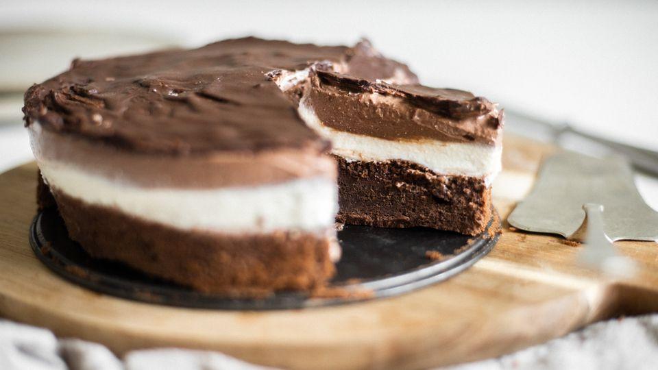Fit dezert: Míša cheesecake plný bílkovin