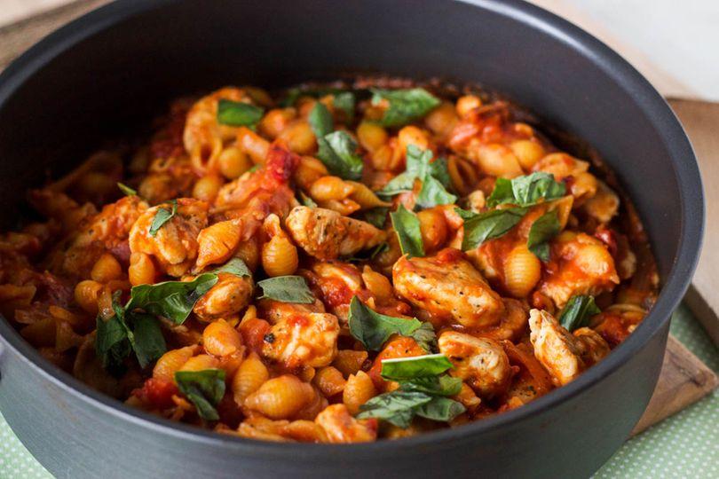 Kuřecí kousky v rajčatové omáčce - FIT recepty