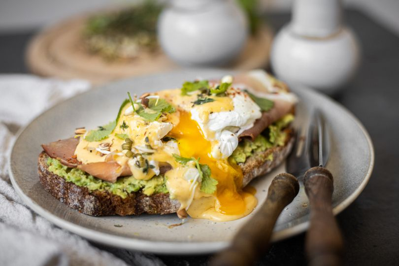 Snídaně jako z kavárny: Vejce Benedikt