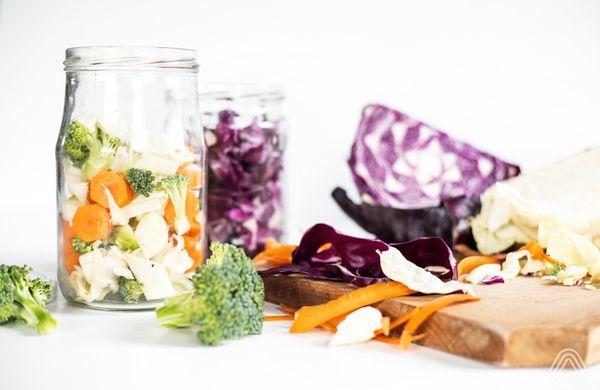Domácí fermentovaná zelenina pro zdravé trávení a imunitu