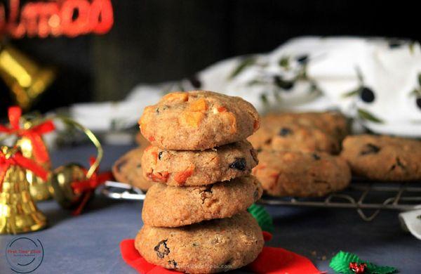 Fit cukroví: Celozrnné vánoční placičky