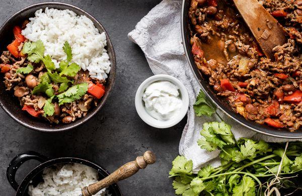 Oběd z jedné pánve na celý týden: Chilli con carne