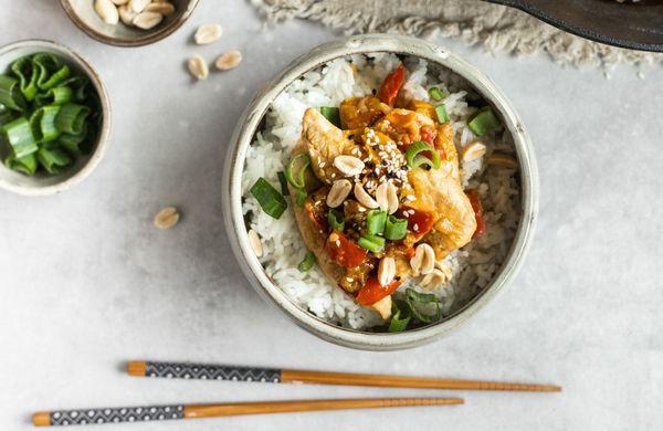Rychle, zdravě, s chutí Asie: Kung pao