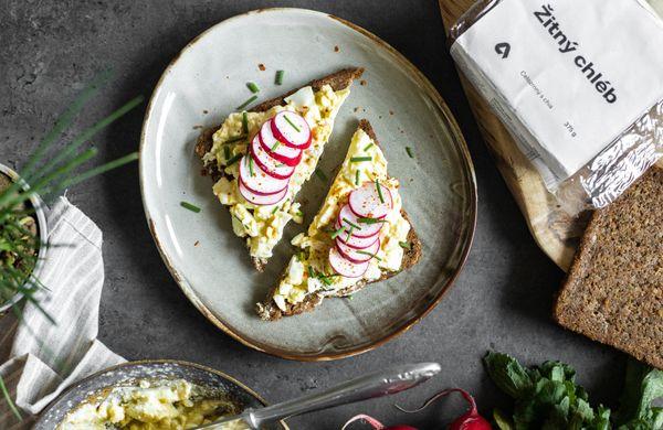 Vajíčková pomazánka zdravě a chutně